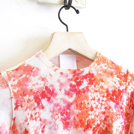 MJ. Watson printed pullover - orange