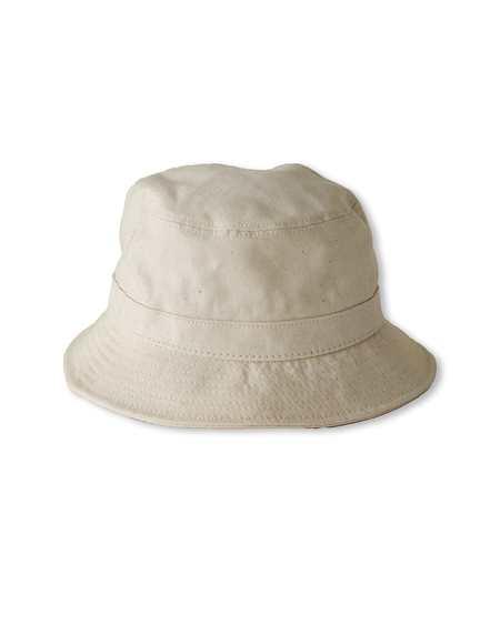 Corridor Organic Canvas Bucket Hat - Natural