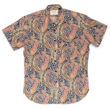 Kovalum Liberty Orange S/S Shirt - Orange/Blue
