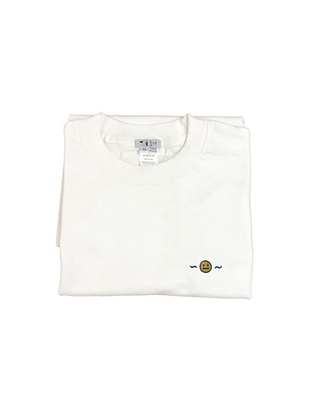 House of 950 embroidery smiley meh tee