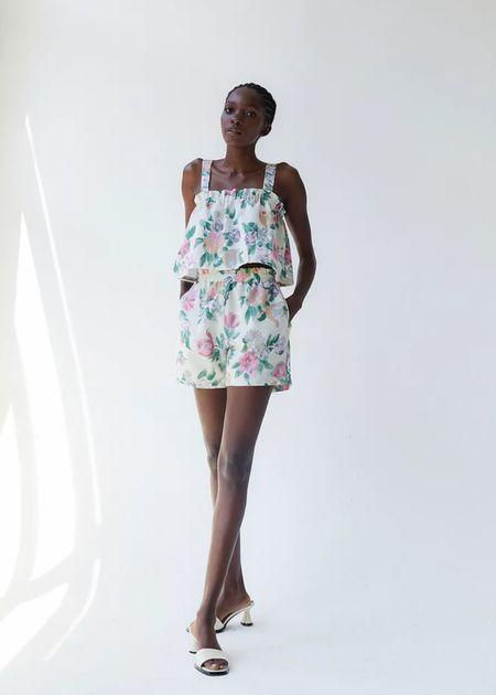 Tach Clothing Nilda shorts - floral