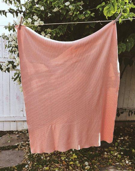 kids Noble Organic Waffle Blanket - Pink Sea Salt