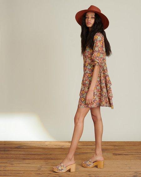 Veronica Beard Floral Abanu Dress - Multi