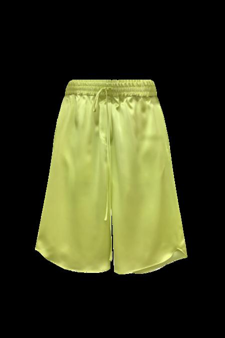 KES Time Out Bermudas Silk Shorts - Lime