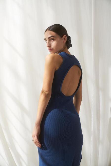 SELVA / NEGRA BELLA DRESS - SEASIDE RIB