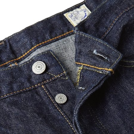 Orslow 105 Standard Selvedge Jean - One Wash