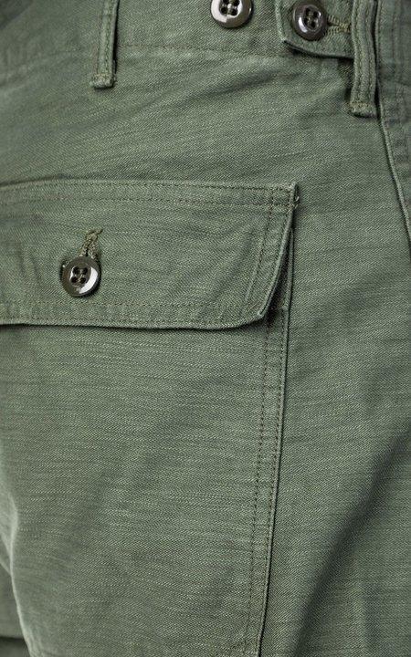 Orslow Slim Fatigue Pant - Green