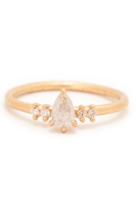 Valley Rose Maia Stacking Ring Set - Gold