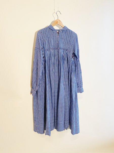 Injiri Neel 01 Dress -  gingham plaid