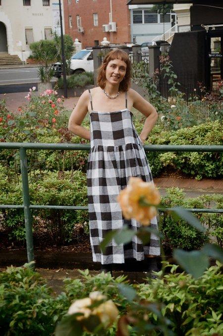 Mimi Holvast Sun Dress - Giant Gingham