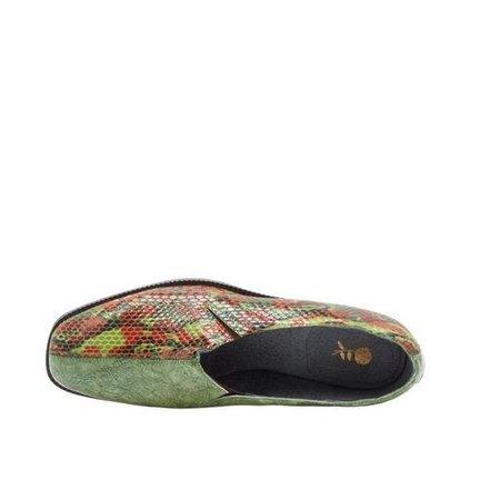 MICHONS MARIGOT PENNY-SOCK TWO TONE pumps - snake skin/marble