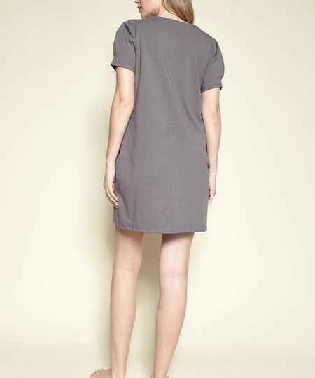 Fabina LA Modern Princess Park Dress - Grey