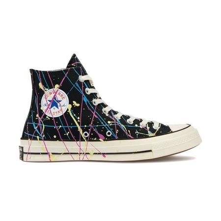 Converse Chuck 70 Archive Paint Splatter Print HI sneakers - Black/Hyper Magenta/Egret