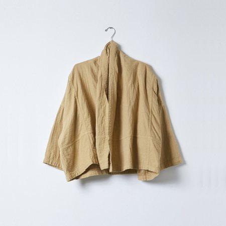 Unisex Atelier Delphine Cotton Gauze Kimono Jacket - Dune