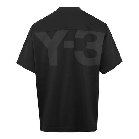adidas Y-3 Classic Paper Jersey T-Shirt - Black