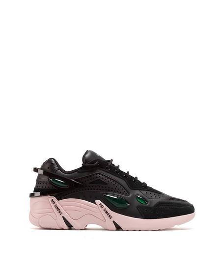 Raf Simons Two-tone Cyclon 21 Sneakers - Black/Pink