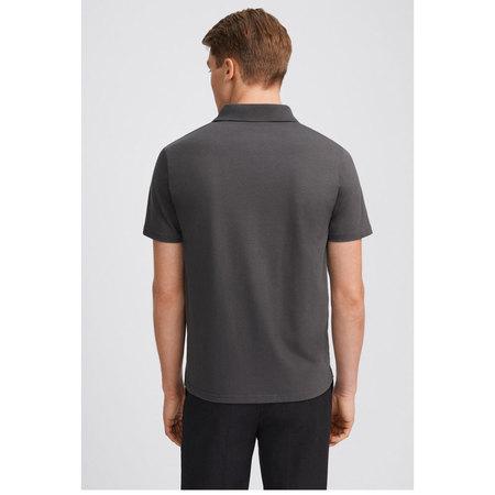 Filippa K lycra polo t-shirt - Metal