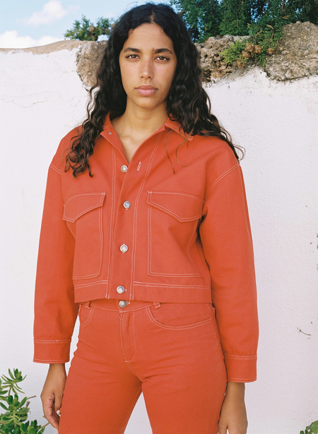 Aniela Parys Jamie Canvas Jacket - orange