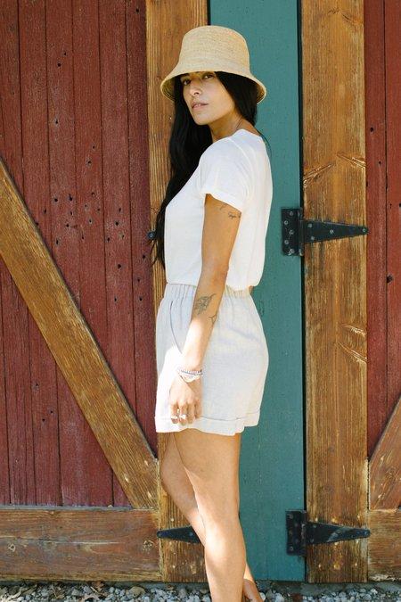 Rachel Pally Linen Sandy Short - Natural