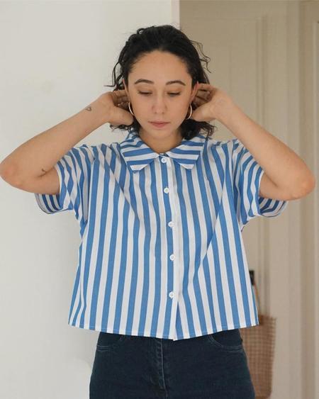 LOUP Seberg Blouse - Stripe.