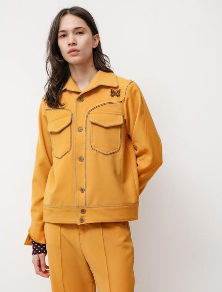 Needles Piping Cowboy Leisure Jacket - Yellow Gold