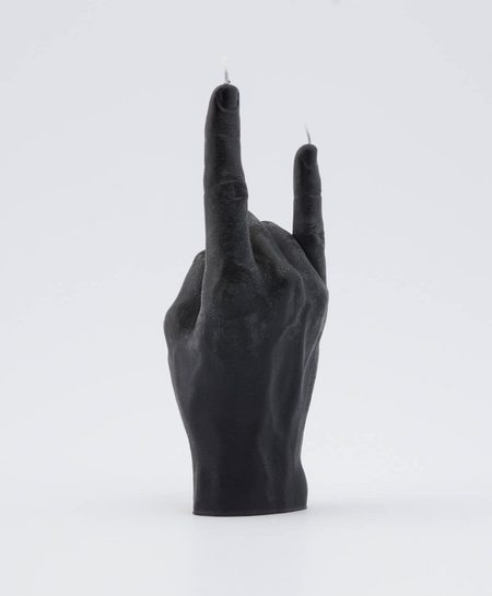 54celcius Candle Hand You Rock! - Black