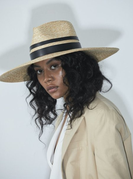 Janessa Leone Elyn hat - Natural