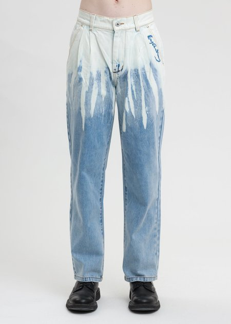 Feng Chen Wang Jeans - Blue Denim Washed