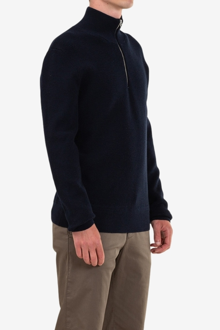 Norse Projects Fjord Guernsey - Dark Navy