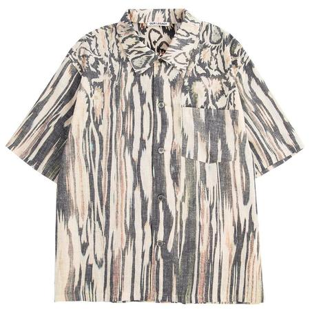 Our Legacy Box Shirt Shortsleeve top - Hanabi Print
