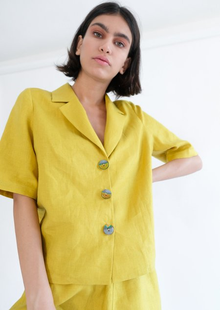 OhSevenDays NORA SHIRT - LEMON ZEST