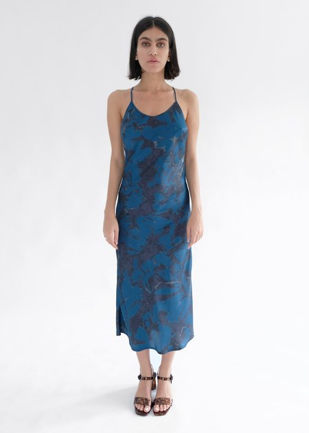 OhSevenDays PHOEBE DRESS - Blue abstract floral