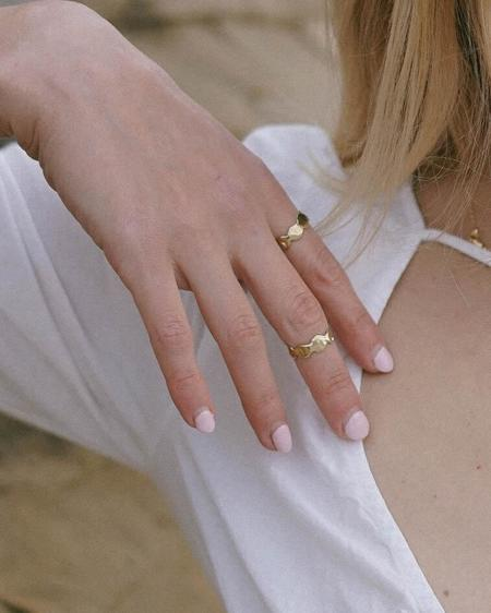 Goldeluxe Jewelry Reverie Ring - Brass