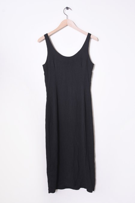 Raquel Allegra Easy Tank Dress - Black