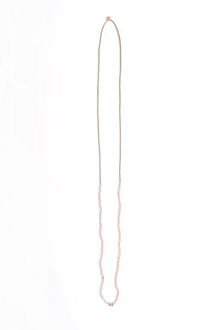Iwona Ludyga Drift Necklace - Peach Moonstone