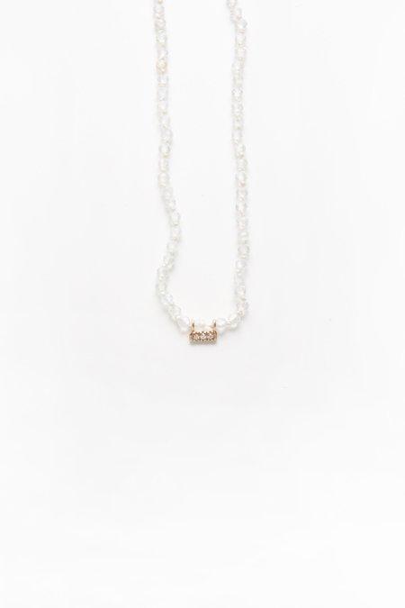 Iwona Ludyga Drift Necklace - White Topaz