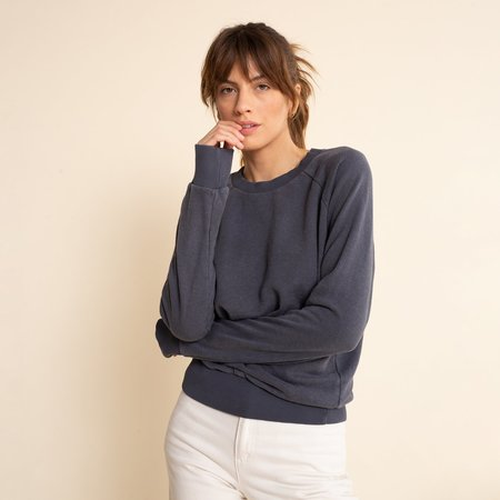 Jungmaven ALPINE RAGLAN sweater - CANVAS