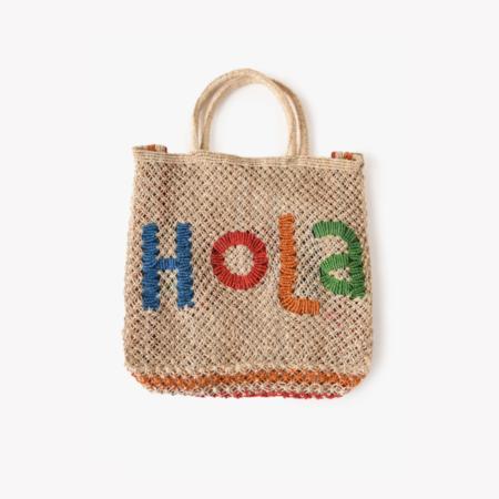 The Jacksons Hola Beach Bag - Natural/Multi
