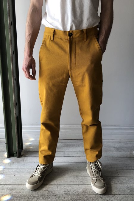 House of St. Clair Atlas Trouser - Gold Twill