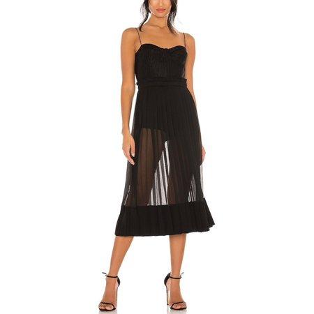 Alexis Inasia Long Dress - Black