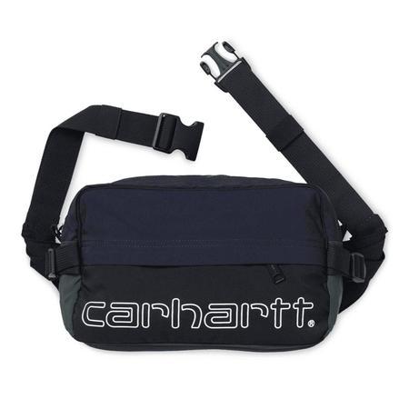 CARHARTT WIP Terrace Hip Bag - Black/Dark Navy/Bottle Green
