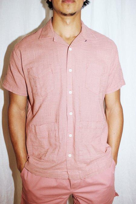 Corridor Super Slub shirt - Dusty Rose