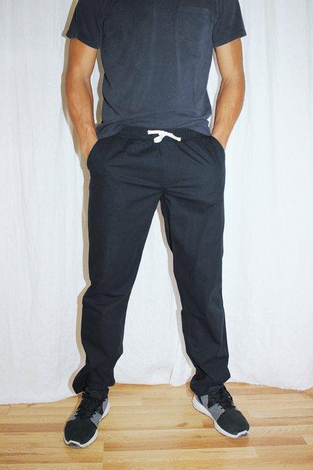 Corridor Ripstop Drawstring Trousers - Black