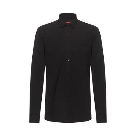 Hugo Boss Elisha Extra Slim Stretch Tailored Shirt - Black