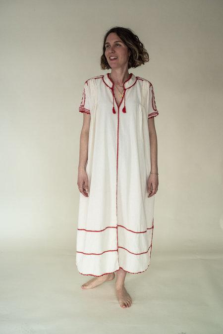 Las Ninas Española Dress - Red