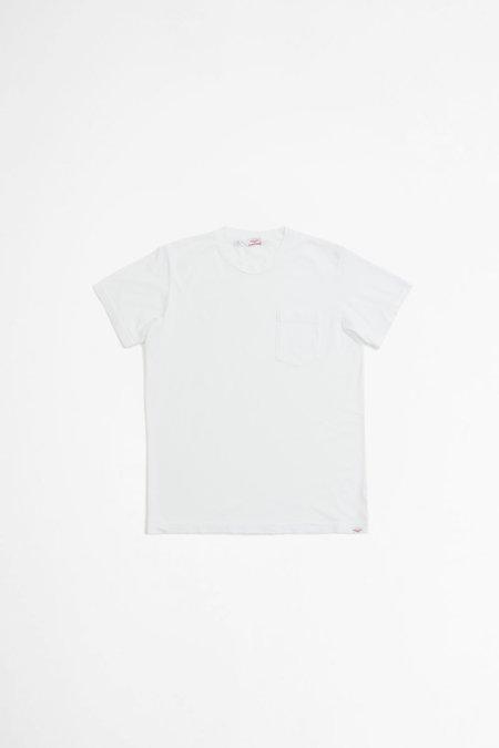 Battenwear S/S pocket tee - white