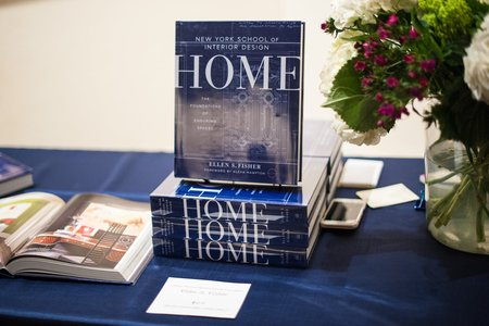 "Penguin Random House ""New York School of Interior Design: Home Book"" by ELLEN S. FISHER and JEN RENZI book"
