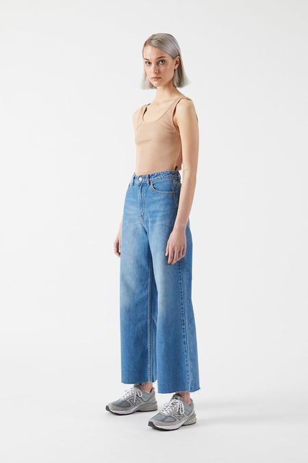 Dr. Denim Aiko Cropped Jeans - Empress Blue
