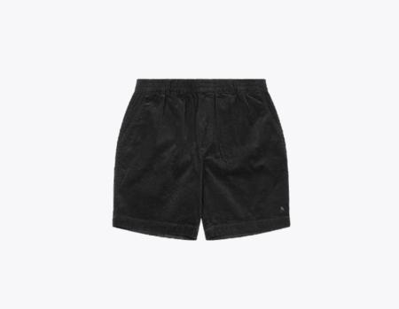 Wemoto Braden Corduroy Shorts - Black