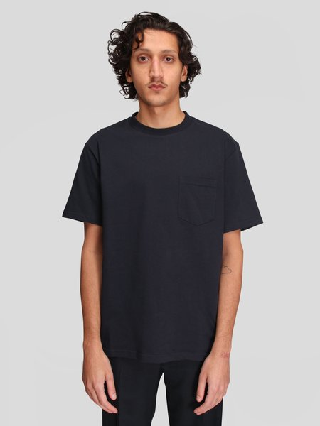 Norse Projects Johannes Pocket SS Tee - Dark Navy